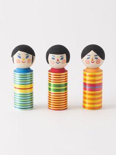 麦わらこけし@今から100年後に残る郷土玩具:新郷土玩具プロジェクト