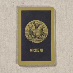Michigan Seal Pocket Notebook