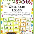These colorful classroom labels will immerse your kiddos in language!  Use these bright and colorful labels to create a print-rich classroom! There...