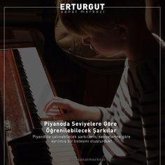 Piyano ile çalınabilecek şarkıların, seviyelerine göre ayrılmış bir  listesini oluşturduk!  https://www.erturgutsanatmerkezi.com/piyanoda-seviyelere-gore-ogrenilebilecek-sarkilar/