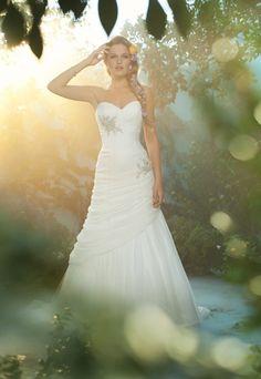 Disney Princess-Themed Wedding Dresses: The New Bridal Trend? via Brit + Co