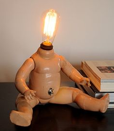 Vintage Doll Body Lamp - The Watt.