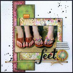Sweet Summer Feet- 1 Horizontal Photo