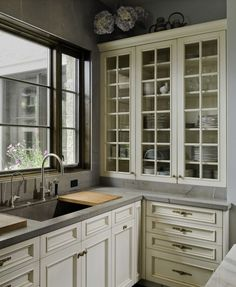 Love the upper cabinets