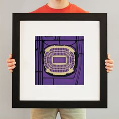 Would go well with the Oriole Park print - M Bank Stadium | City Prints Map Art