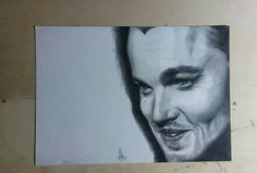 Dicaprio drawing
