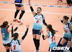 Michel : '역전의 명수' GS, IBK 완파하고 컵대회 첫승 신고