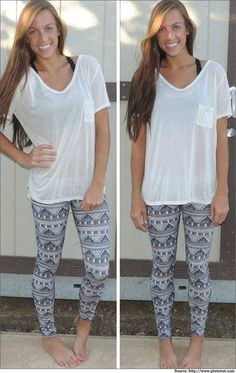 how to wear leggings in summer - Google Search