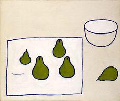 Five Pears, 1976, Oil on canvas, 63.5 x 76cm (25 x 30 in)  British Council Arts Collection  British Council Arts Collection  © Estate of William Scott 2011