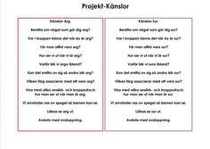 Mariaslekrum - Illustrerade känslor. Preschool, Teacher, Motivation, Tips, Professor, Daily Motivation, Kindergarten, Day Care, Preschools