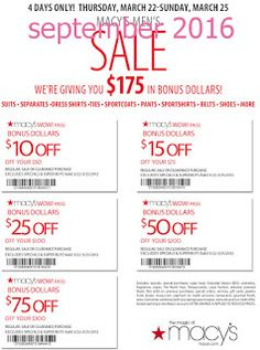 Macy's Coupons Promo Coupons will expired on MAY 2020 ! Macy's Information Shop at Macy's and save more with shoes, clothing, jewelry. Macys Promo, Macys Coupon, Coupon Deals, Online Coupons, Grocery Coupons, Discount Coupons, Free Printable Coupons, Printable Cards, Free Printables