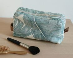 Paulette la trousse de toilette jungle - louise magazine - tuto gratuit