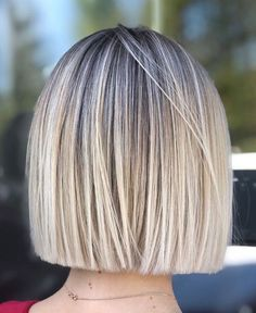Classic Brunette Balayage - 20 Inspirational Long Choppy Bob Hairstyles - The Trending Hairstyle Brown Hair With Blonde Highlights, Hair Highlights, Blonde Highlights Bob Haircut, Ombre Hair, Balayage Hair, Short Bob Hairstyles, Cool Hairstyles, Blunt Bob Haircuts, Short Blunt Haircut