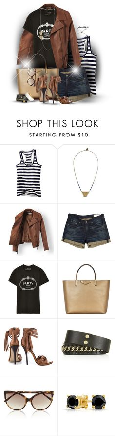"""""""Rocky Mountain High"""" by rockreborn ❤ liked on Polyvore featuring Madewell, Forte Forte, rag & bone, Brian Lichtenberg, Givenchy, Mia Limited Edition, Topshop, Linda Farrow, Bling Jewelry and Ted Rossi"""