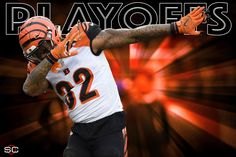 For the 5th straight year, Cincinnati Bengals clinch a playoff spot!   They've lost in the Wild Card round each of the last 4 seasons.  12/20/2015