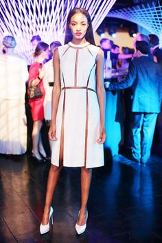 Jeisa Chiminazzo - Photos from 2013 Whitney Art Party and the DKMS Gala - Harper's BAZAAR