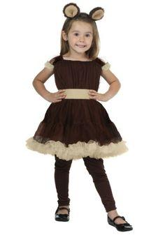 Toddler Girl's Bear Costume