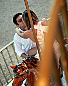 Cristine's couples photography in the merry go round