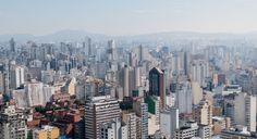 Skies over Sao Paulo.