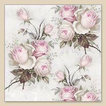 Lovely vintage roses decoupage napkin  Etsy listing at https://www.etsy.com/listing/188396190/new-paper-napkin-roses-decoupage-napkin