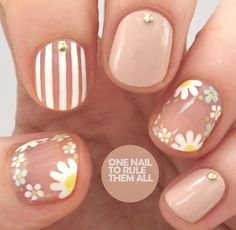 awesome 6 fun and playful school nails art ideas