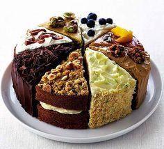 Café, sonhos e pensamentos: Os bolos mais gostosos ao redor do mundo