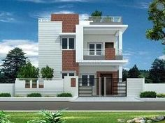 Super Exterior Home Ideas Brick House Plans Ideas House Front Wall Design, Bungalow House Design, Modern House Design, House Wall, Brick House Plans, Craftsman House Plans, New House Plans, Exterior House Siding, Facade House