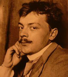 Koloman Moser (1868 - 1918) was one of principal founders of movement that included craftsmen and retailers include Adolf Erbrich, Josef Husnik, Anton Pribil, Georg Anton Scheid, Georg Stöger, J. Souval, Alexander Sturm, Stanislaus Teyc