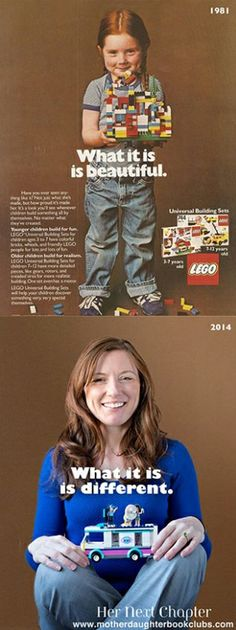 Remember that iconic Lego ad from 1981? The girl featured grew up to become a naturopathic doctor in Seattle.