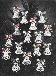 Вязаные колокольчики, есть понятное описание на русском языке.