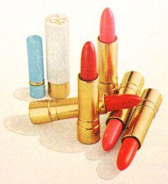 Bonne Bell 'Purse & Parka' Lipsticks, 1965 Vintage Beauty, Vintage Fashion, Bonne Bell, Cosmetic Packaging, Over The Rainbow, Lipsticks, Backstage, Parka, Sick