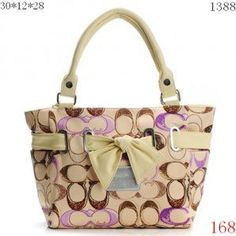 Coach Handbags 1388- kind of liking the bow!