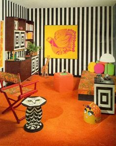 60's Bedroom - 'Seventeen' Magazine, October 1967