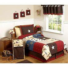 "Sweet JoJo Wild West Cowboy Collection Children's Bedding - 4-Piece Twin Set - Babies 'R' Us - Toys ""R"" Us"