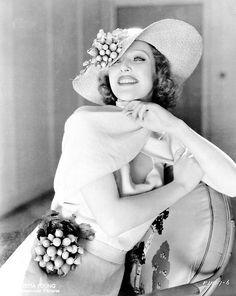 Actress Loretta Young.