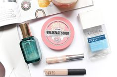 Recent Empties - Estée Lauder Idealist Pore Minimizing Skin Refinisher, Soap & Glory The Breakfast Scrub, Clinique Line Smoothing Concealer, NARS Radiant Creamy Concealer, L'Oreal Eye and Lip Makeup Remover