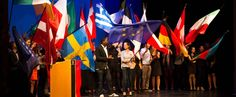 The European Youth Parliament is one of the largest platforms for political debate, intercultural encounters, European civic education and the exchange of ideas for young people in Europe Youth, Europe, Join, People, People Illustration, Young Adults, Folk, Teenagers