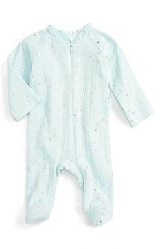 Main Image - aden + anais Muslin Footie (Baby)
