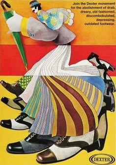 Dexter shoes advertisment, 1970s