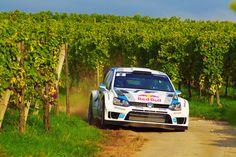 Volkswagen Polo R WRC rally car