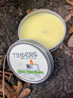 Zen Garden Tinders Soy Candle