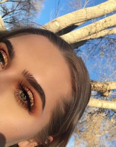 Gorgeous Makeup: Tips and Tricks With Eye Makeup and Eyeshadow – Makeup Design Ideas Cute Makeup Looks, Makeup Eye Looks, Eye Makeup Tips, Eyeshadow Looks, Gorgeous Makeup, Makeup Goals, Skin Makeup, Makeup Inspo, Eyeshadow Makeup