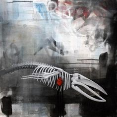 'All That's Left' a painting by Leon Loucheur…... #Modern_Eden #Arsetculture #Tumblr_Curator