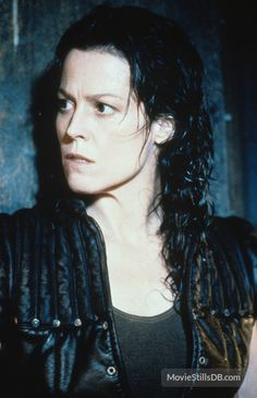 Sigourney Weaver (as Ellen Ripley in Alien: Resurrection), I loved her coldness in this movie; everything she did was so badass
