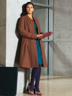34b4dd63a55 Mantel - Plus - A-Linie Coat Patterns