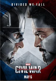 Captain America Civil War (2016): That's a great, big league teaser poster. I hope the official release artwork has the same power.