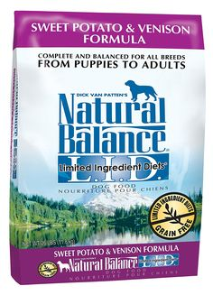 Natural Balance Limited Ingredient Diets Dry Dog Food - Sweet Potato and Venison Formula >>> Trust me, this is great! Click the image. : Dog Food