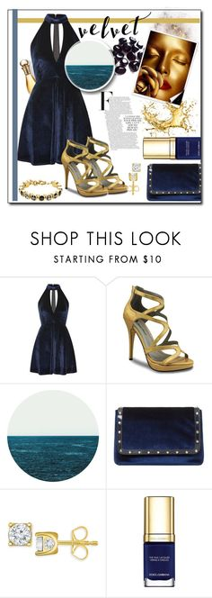 """""""velvet 2"""" by giada2017 ❤ liked on Polyvore featuring Oh My Love, Dune, TruMiracle, Dolce&Gabbana and Dyrberg/Kern"""