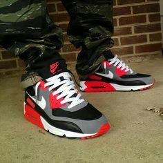 Nike Air Max 90 Infrared Mens