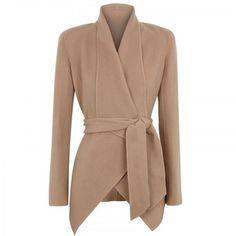 Draped Cashmere Jacket